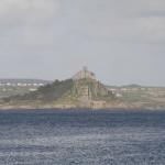 Saint Michaels Mount von Penzance aus gesehen